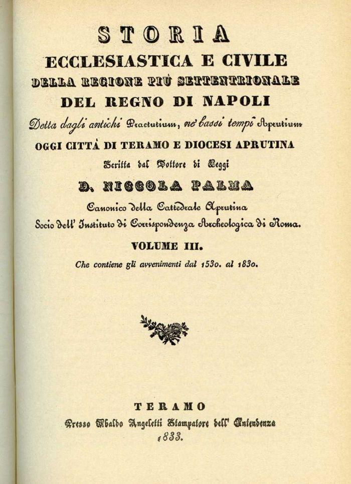 Storia ecclesiastica e civile della regione pi - Storia di palma domenica ks1 ...
